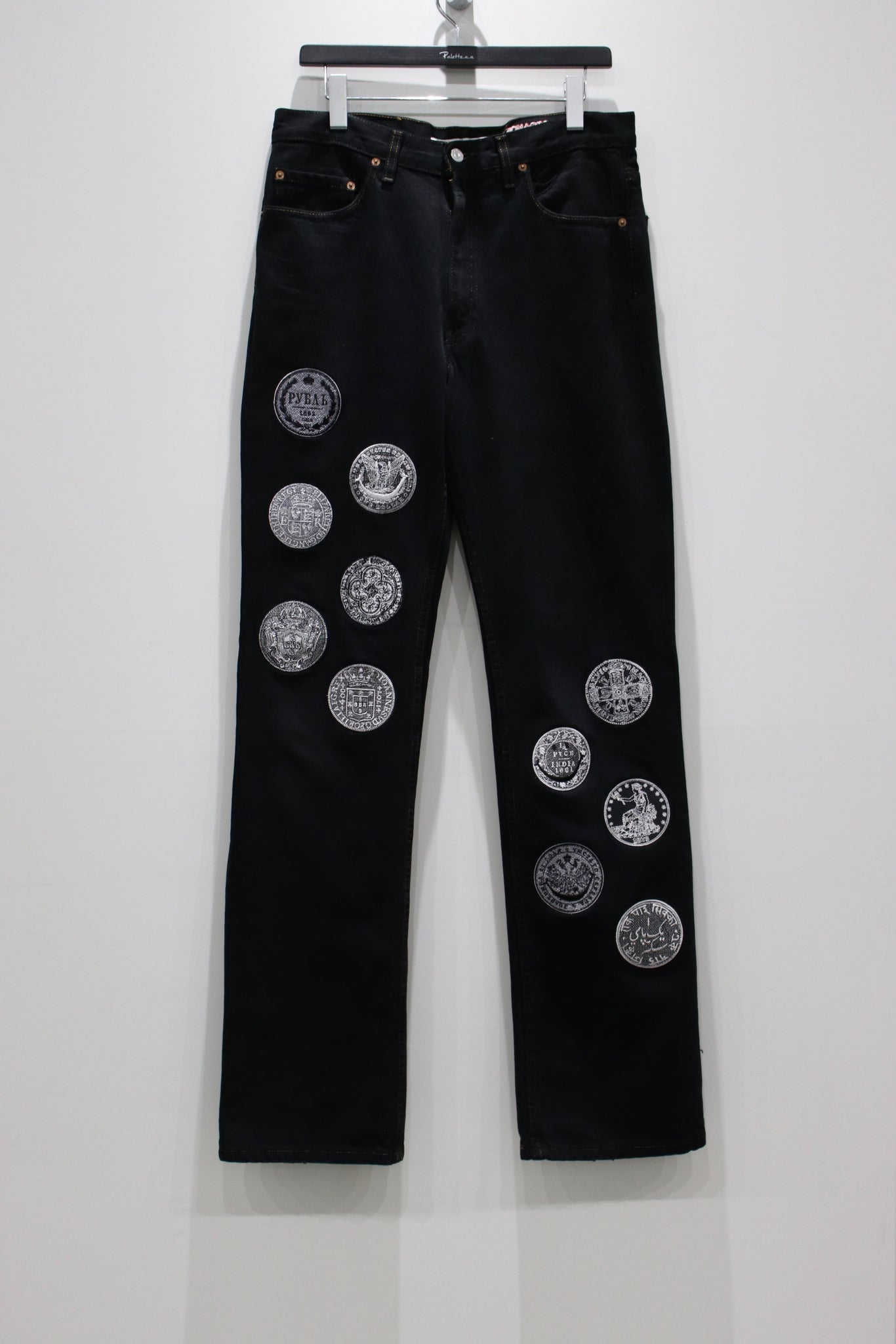 Children of the discordanceの21AWのEMBROIDERY DENIM