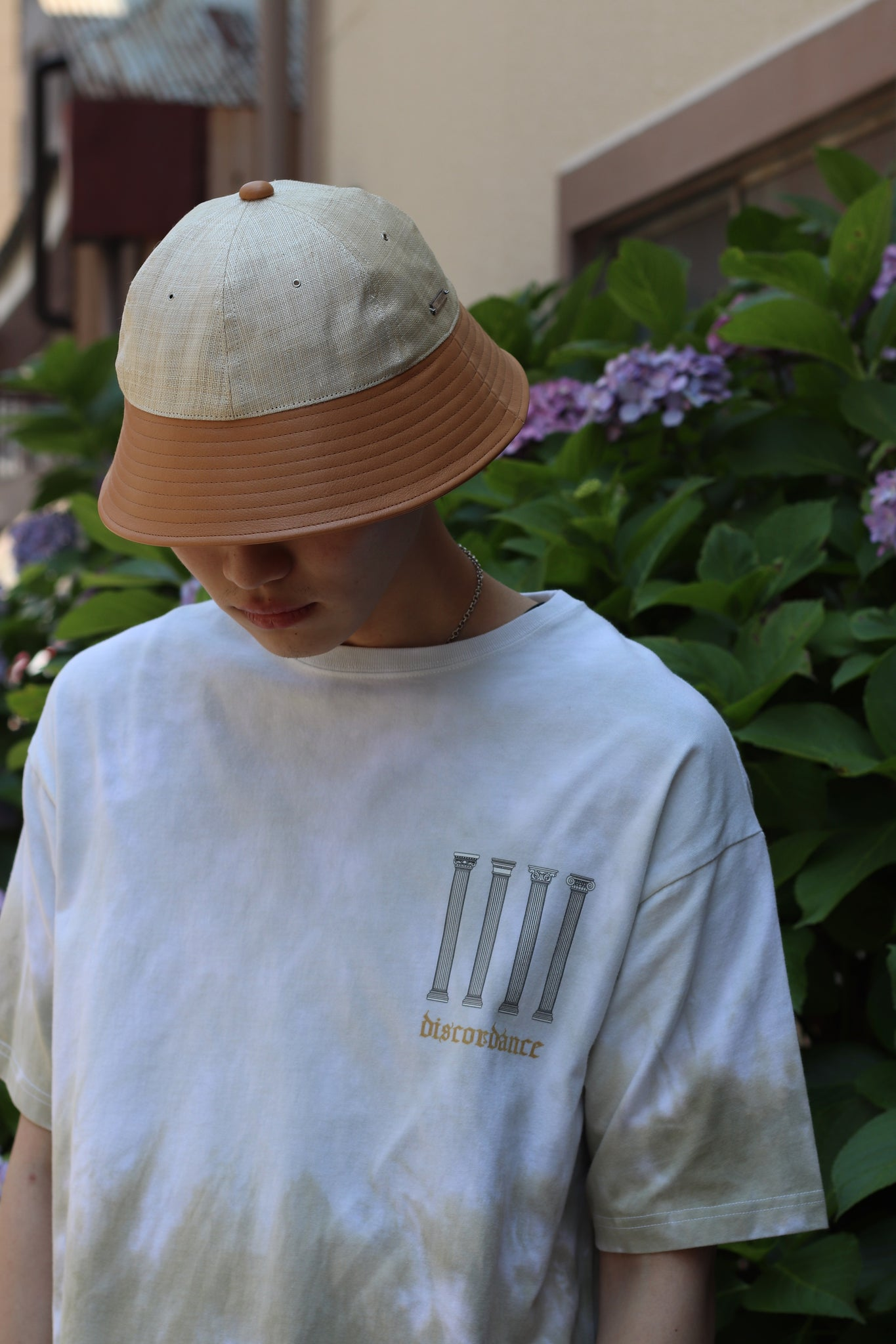 COTDの21SSのHAND DYEING PRINT TEE