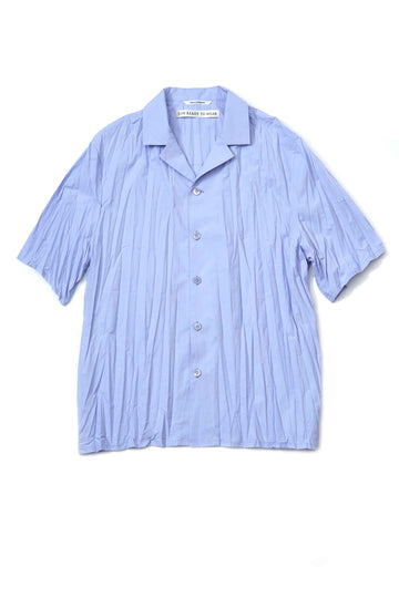 soe  Pleated H/S Shirt(SAX)