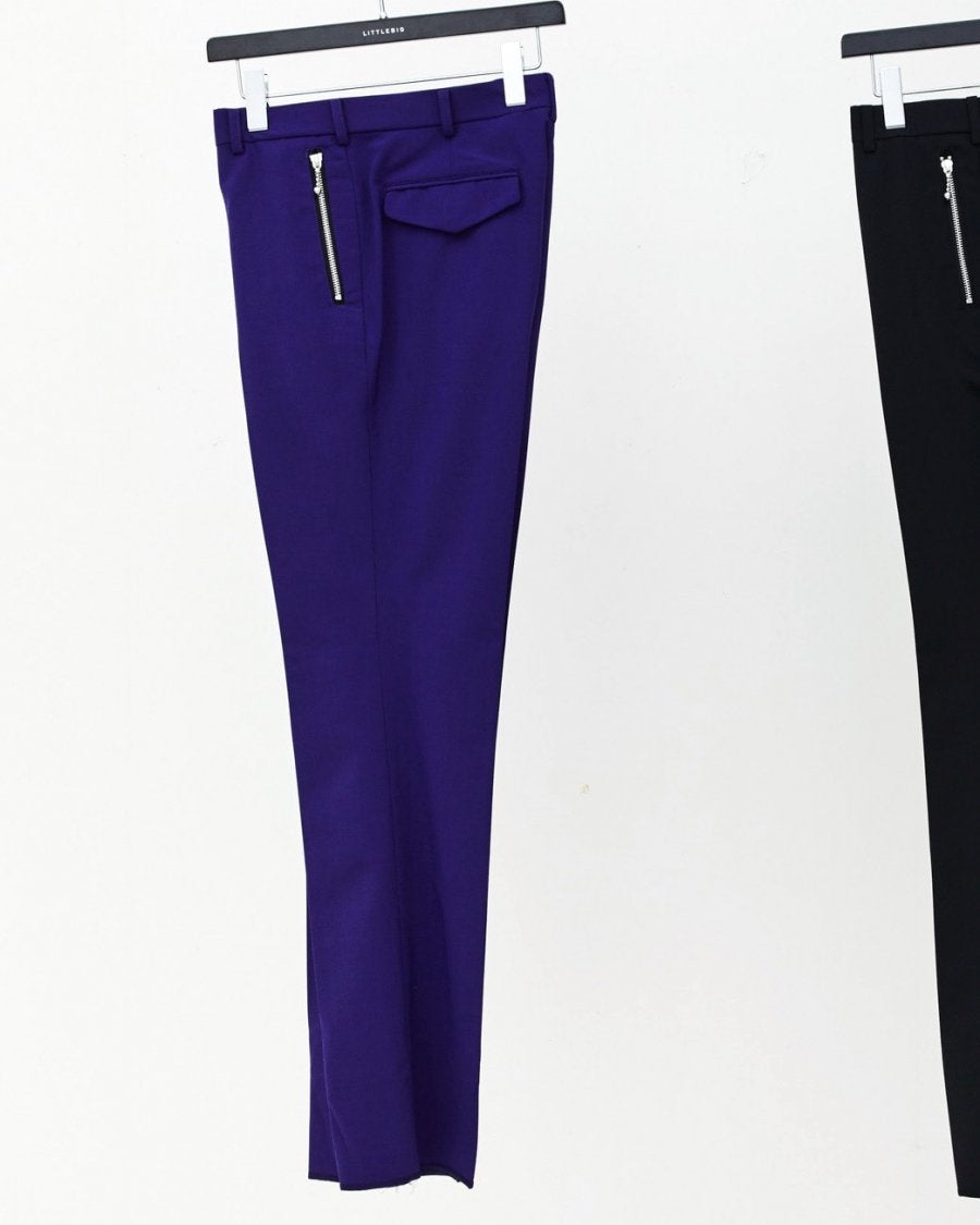 LITTLEBIG  Cropped Trousers(PURPLE or BLACK)