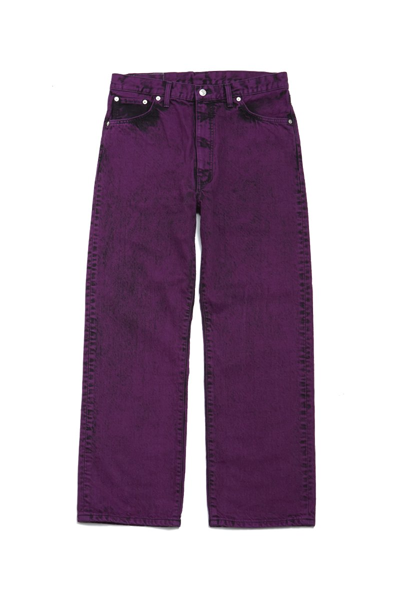 soe  Bleach & Color Jeans collaborated with EDWIN(PURPLE)