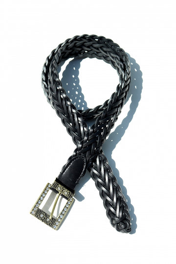 soe Braid Leather with(BLACK)