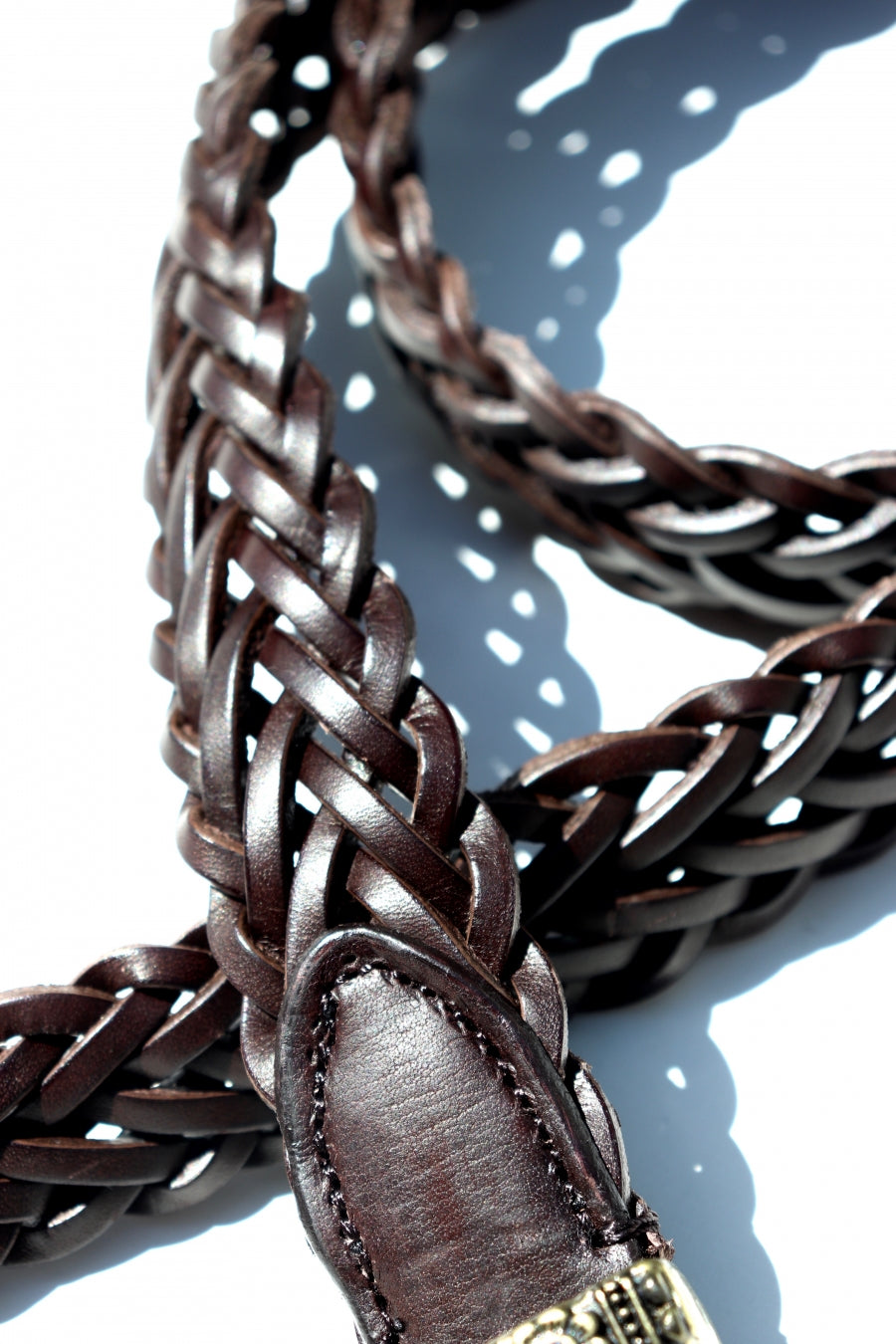 soe Braid Leather with(BROWN)