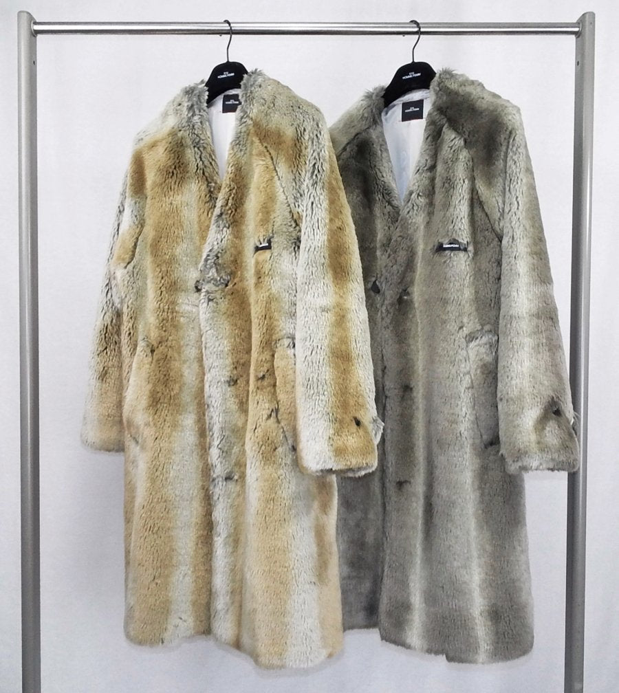SYU.HOMME/FEMM  Nocollor fur coat to SDGz(Brown)