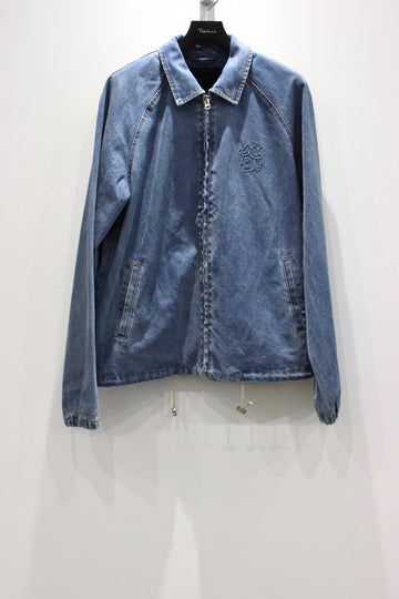 VICTORIA  DENIM COACH'S JACKET