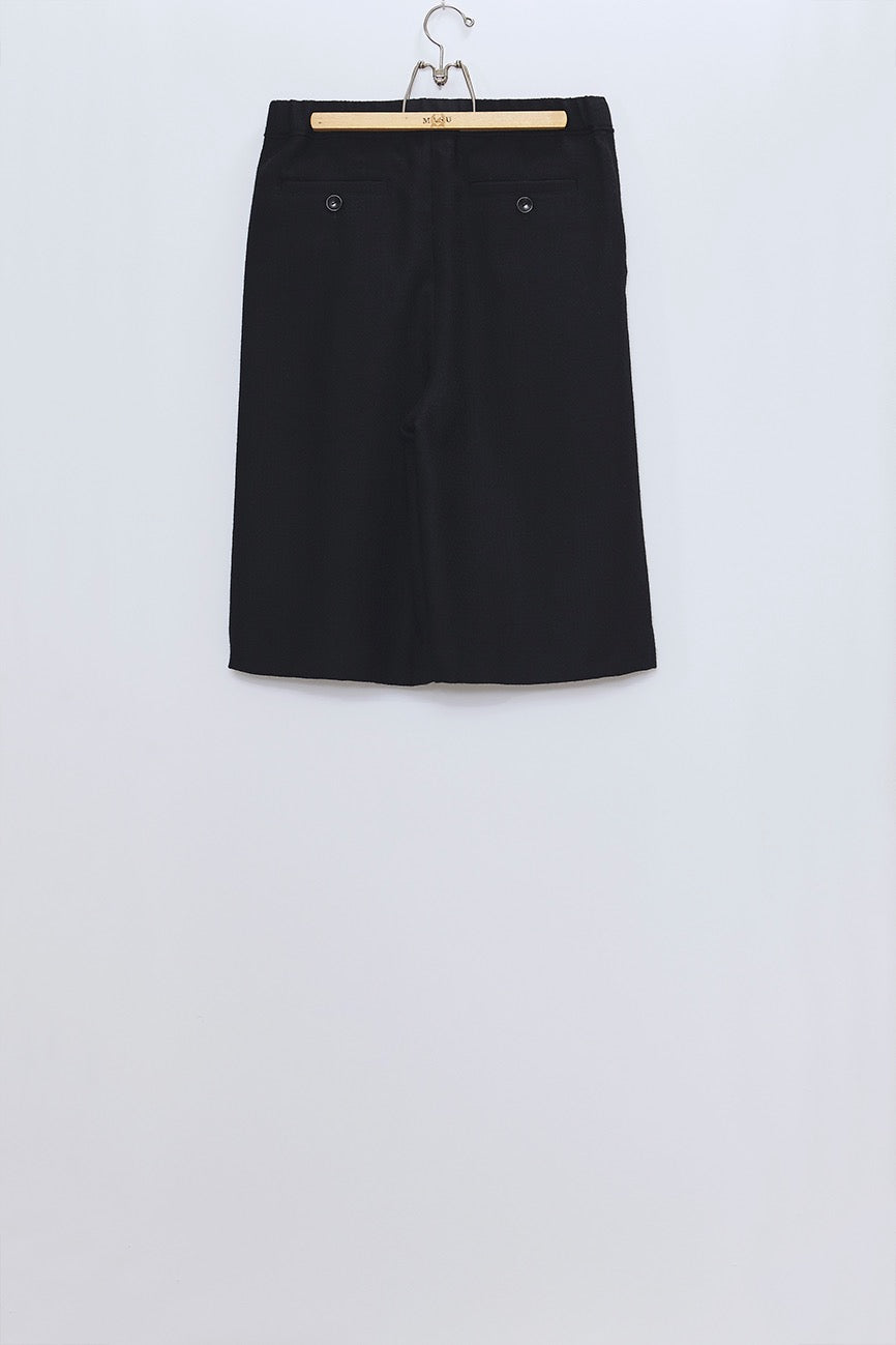 MASU  WIDE SHORTS(BLACK)