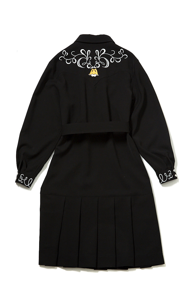 soe  Embroidered Western Dress