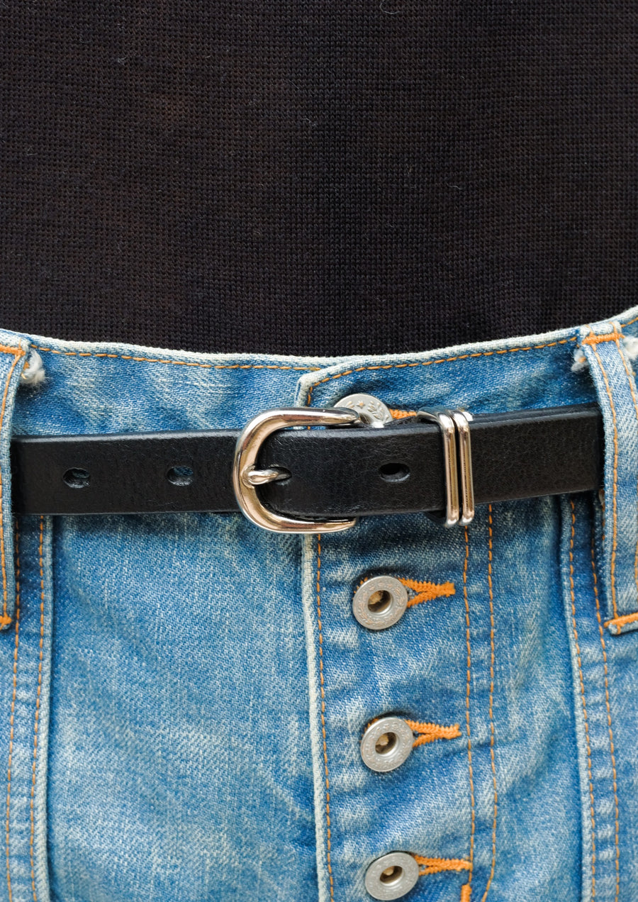 SUGARHILL  Embroidery Leather Belt