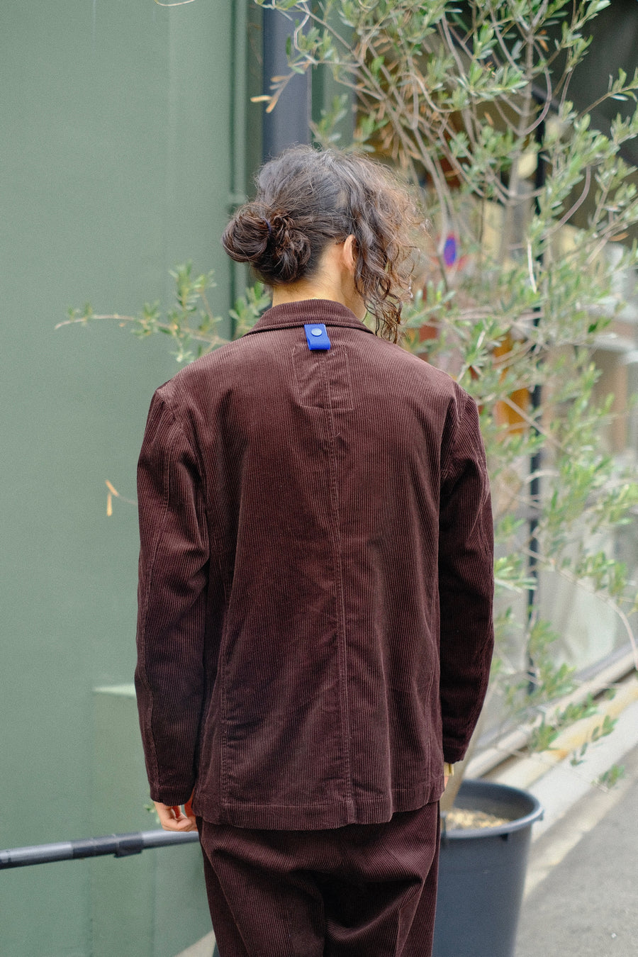 【20%OFF】elephant TRIBAL fabrics  Inside Pocket JKT(BROWN)