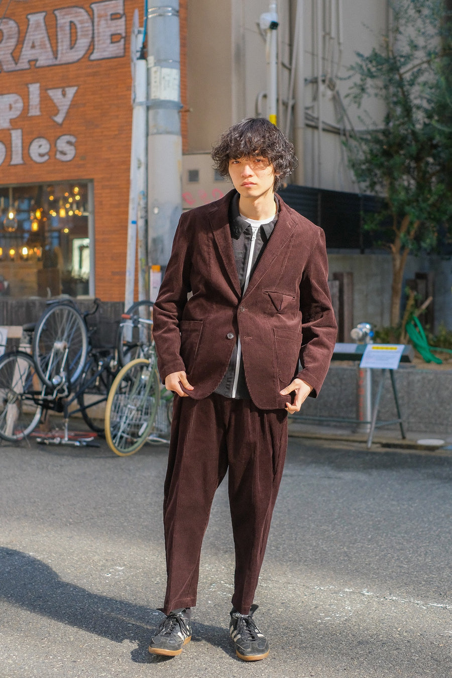 【20%OFF】elephant TRIBAL fabrics  Incomplete Length Pants(BROWN)
