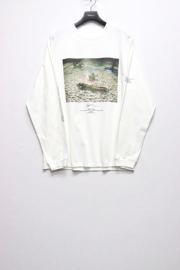 JOHN MASON SMITH × Cheryl Dunn NAPPING CHILLING L/S T-SHIRT