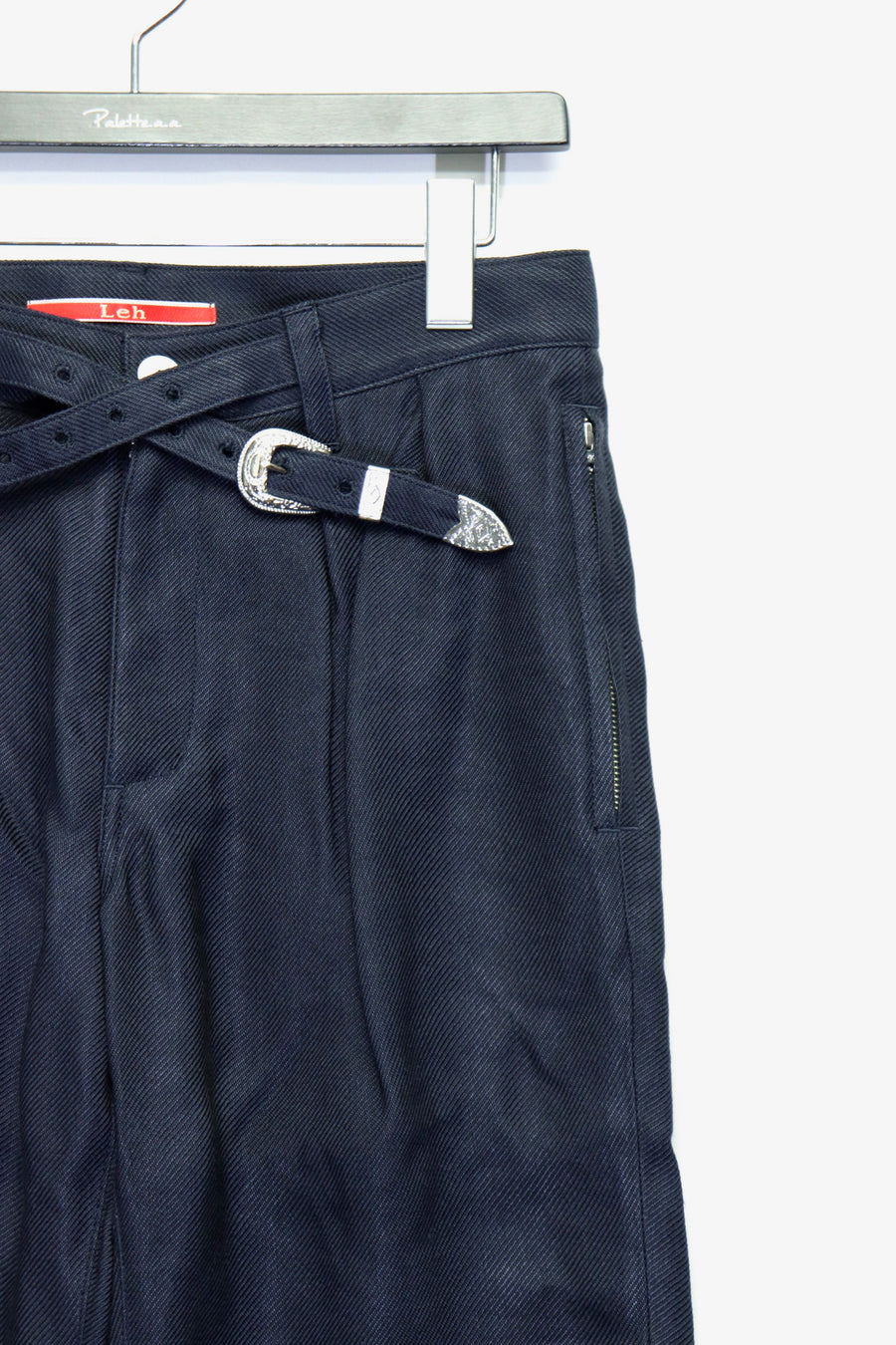 LEH  Band Slim Pants(NAVY)