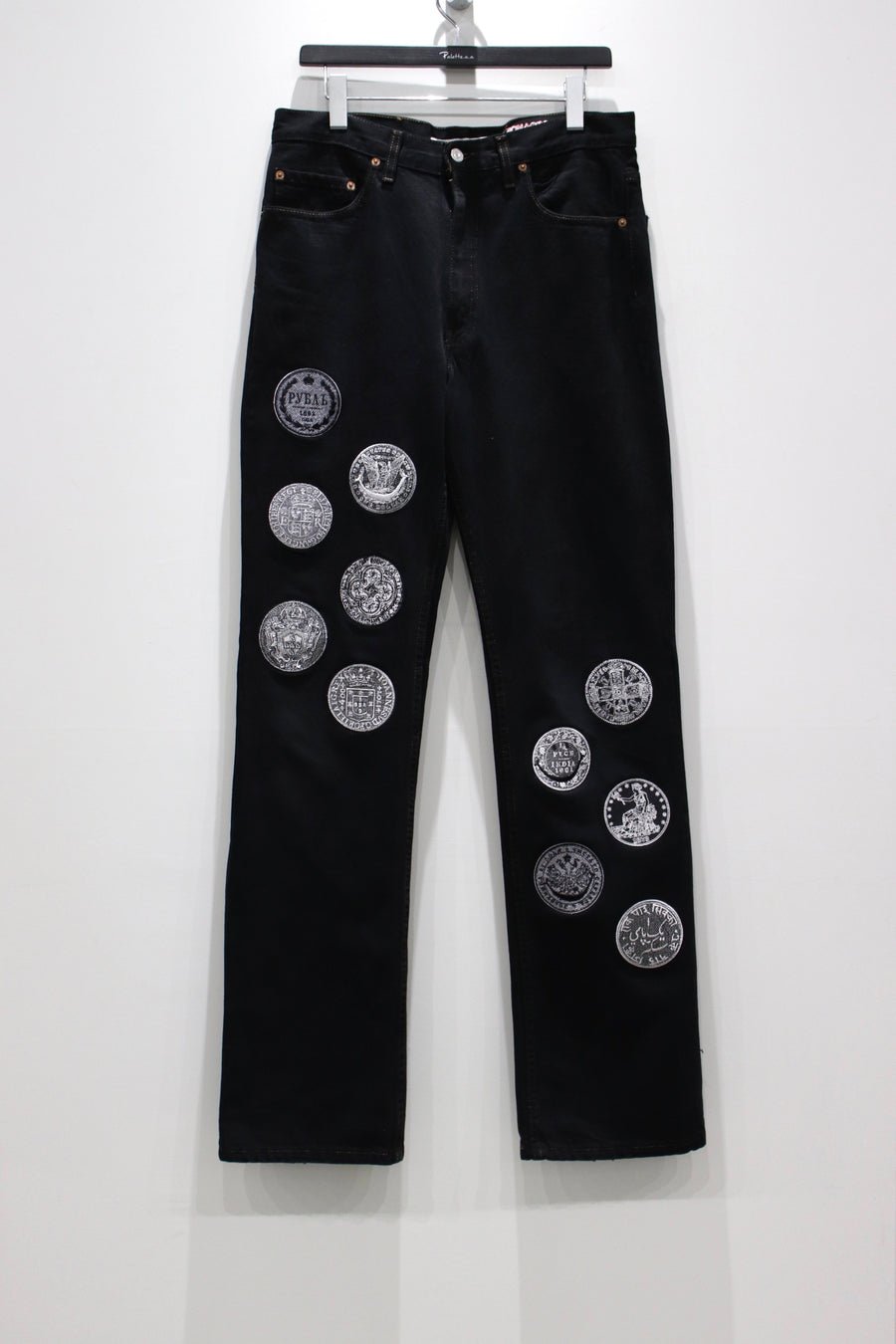 Children of the discordance  TYPE-512 EMBROIDERY DENIM PANTS A