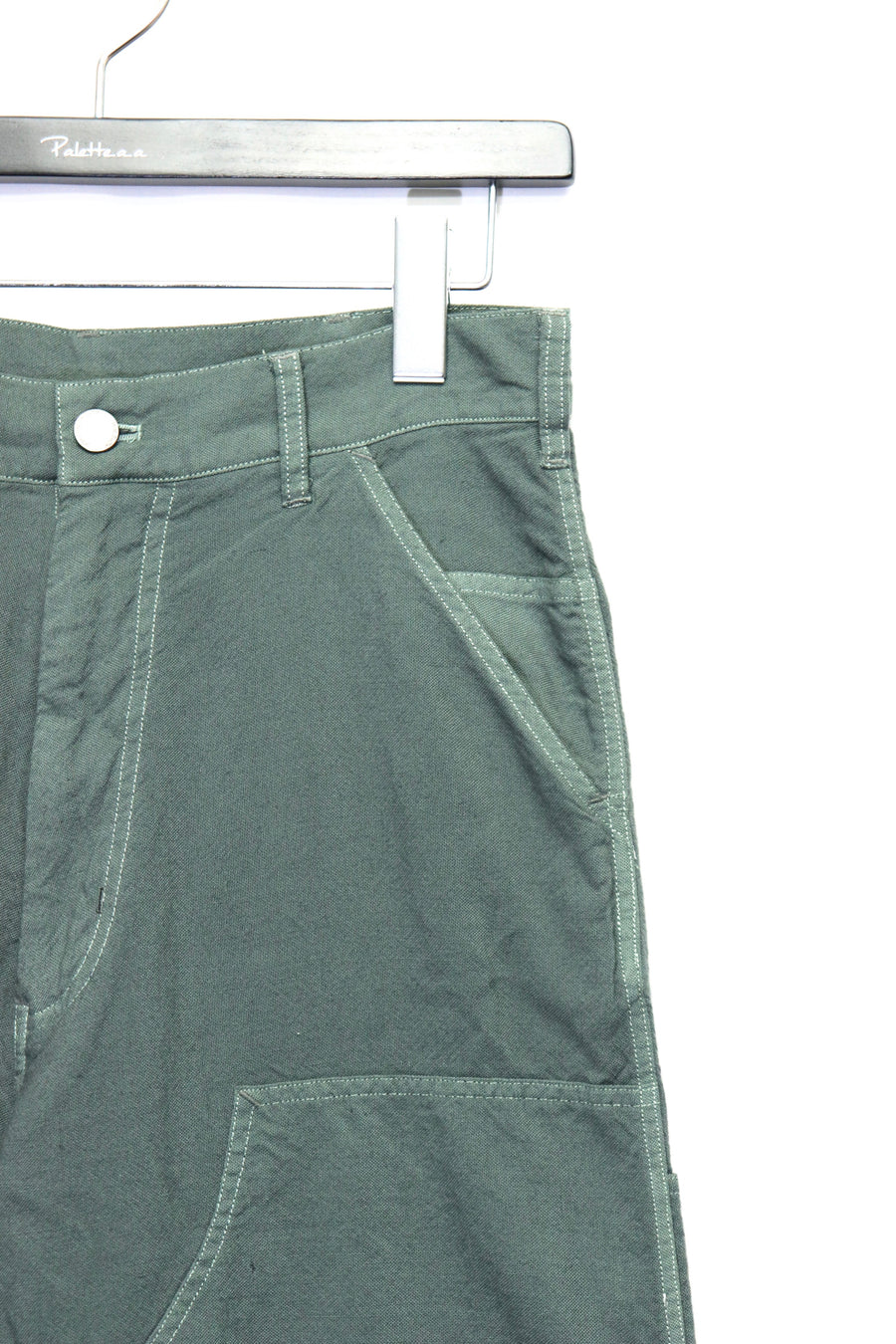 JOHN MASON SMITH  DOUBLE KNEE WORK PANTS(GREEN)