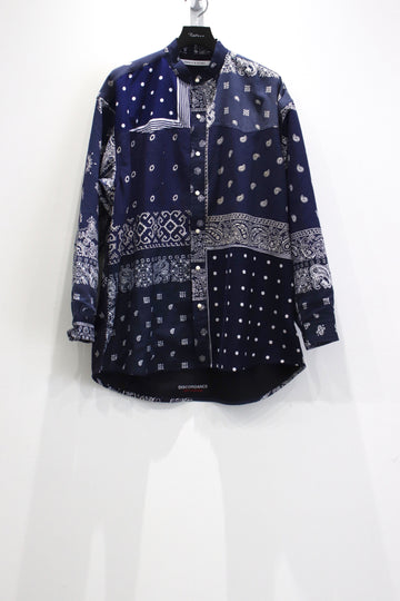 Children of the discordance  BANDANA PATCHWORK SHIRT LS SP 2