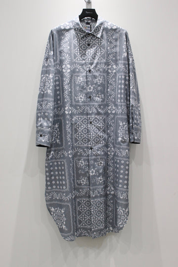 SHINYAKOZUKA  DRESS WITH REYN SPOONER(BLURRED GREY)