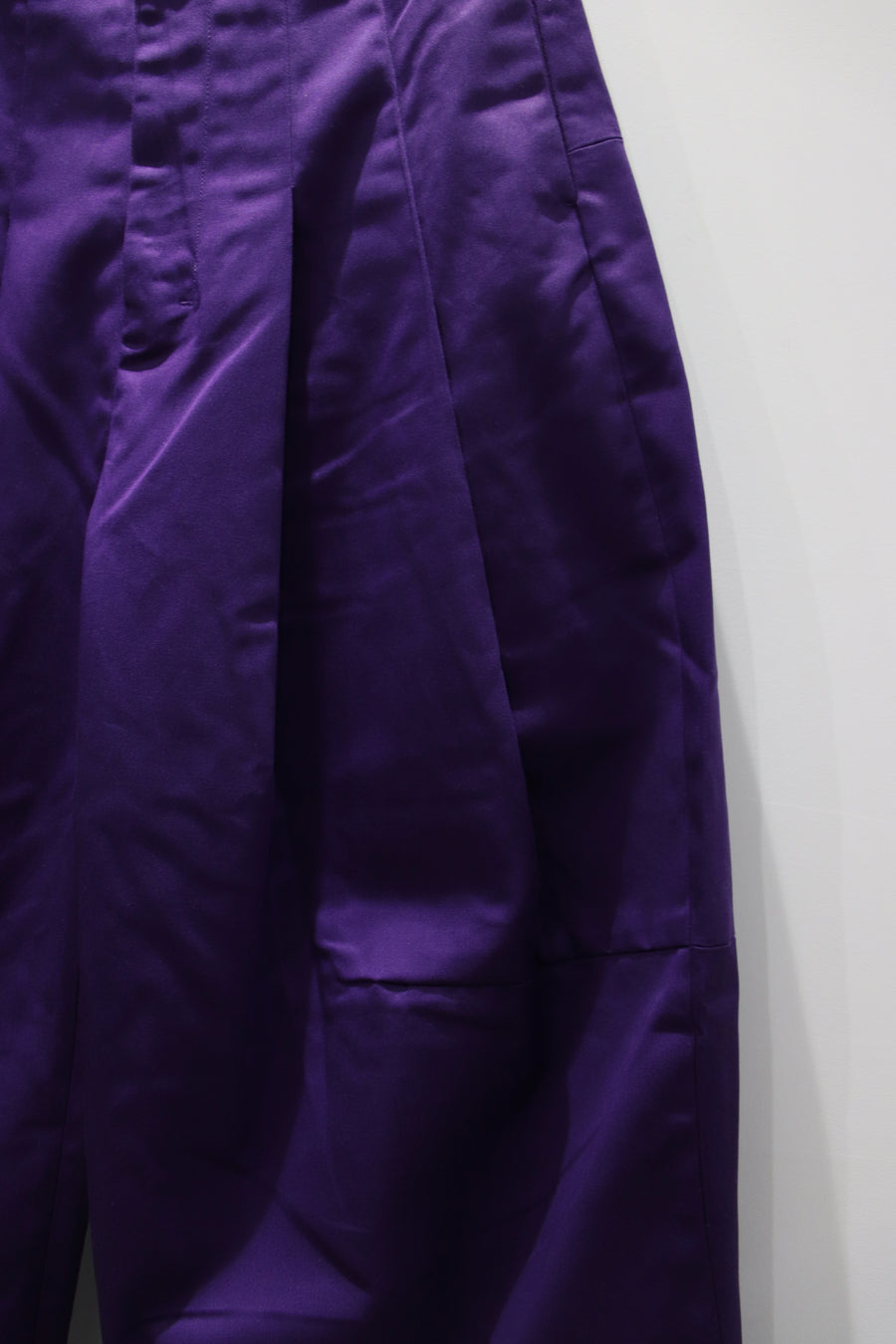 SHINYAKOZUKA  BAGGY WITH DICKIES(VIOLET)
