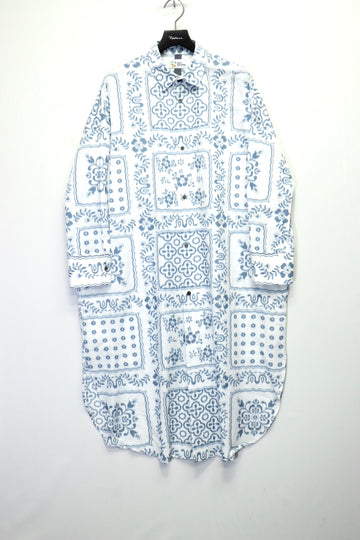 SHINYAKOZUKA DRESS WITH REYN SPOONER(BLURRED WHITE)