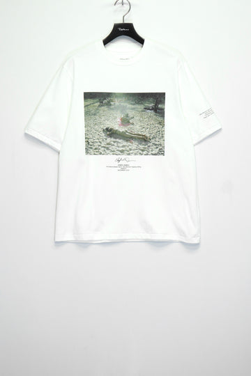 JOHN MASON SMITH × Cheryl Dunn NAPPING CHILLING S/S T-SHIRT