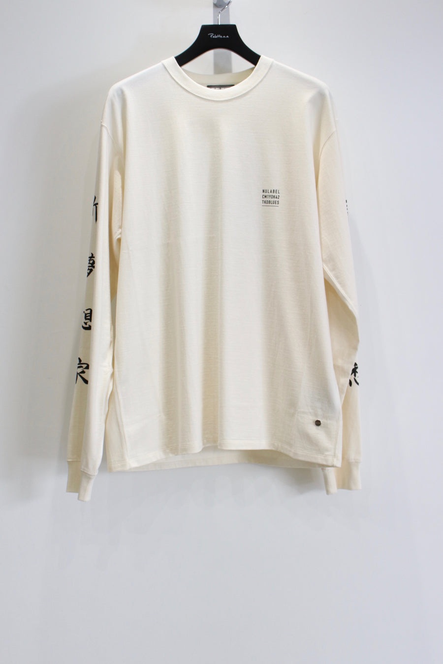 NULABEL  PATCH TEE L/S
