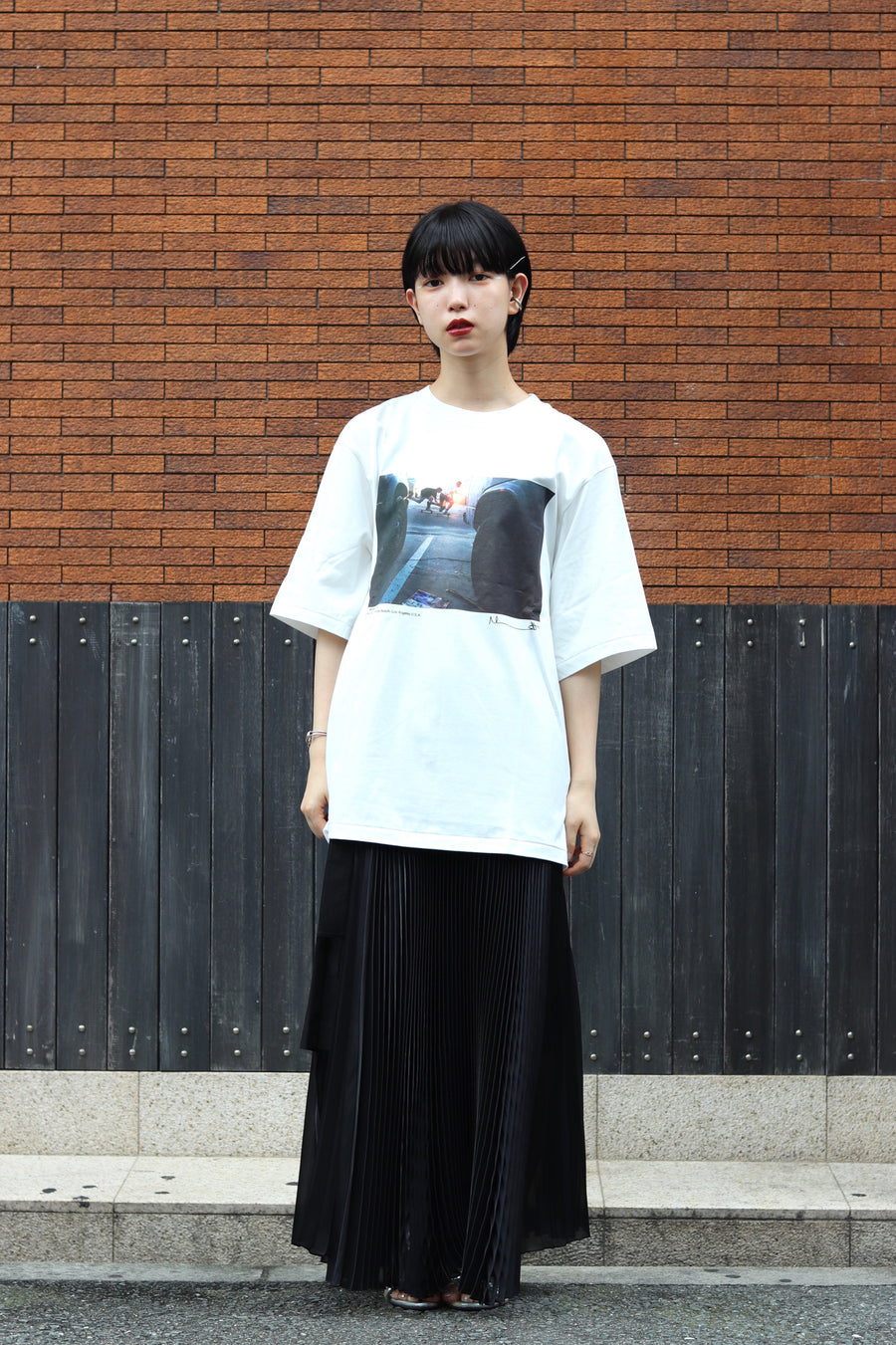 JOHN MASON SMITH × MIKE O'MEALLY S/S T-SHIRT (BLONDEY MCCOY)