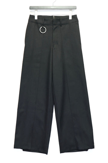 [ー]MINUS  HAKAMA TROUSERS(BLACK)
