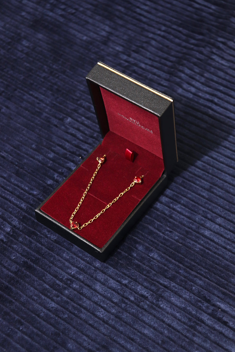 SYU.HOMME/FEMM  Love chain necklace(Gold)