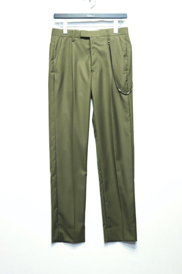 soe  Slim Fit Trousers with Metal Code