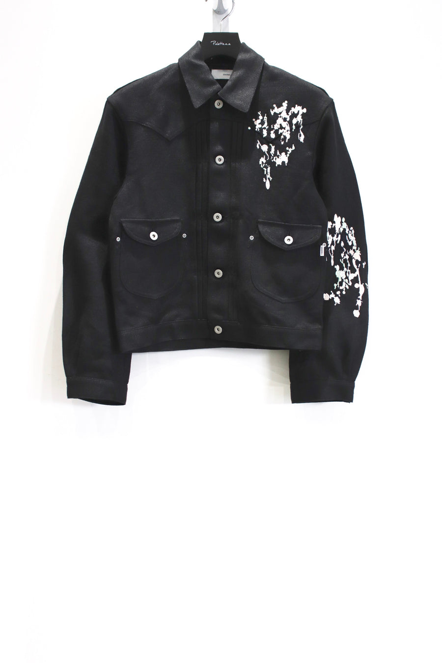 SUGARHILL  SPLATTER DENIM JACKET