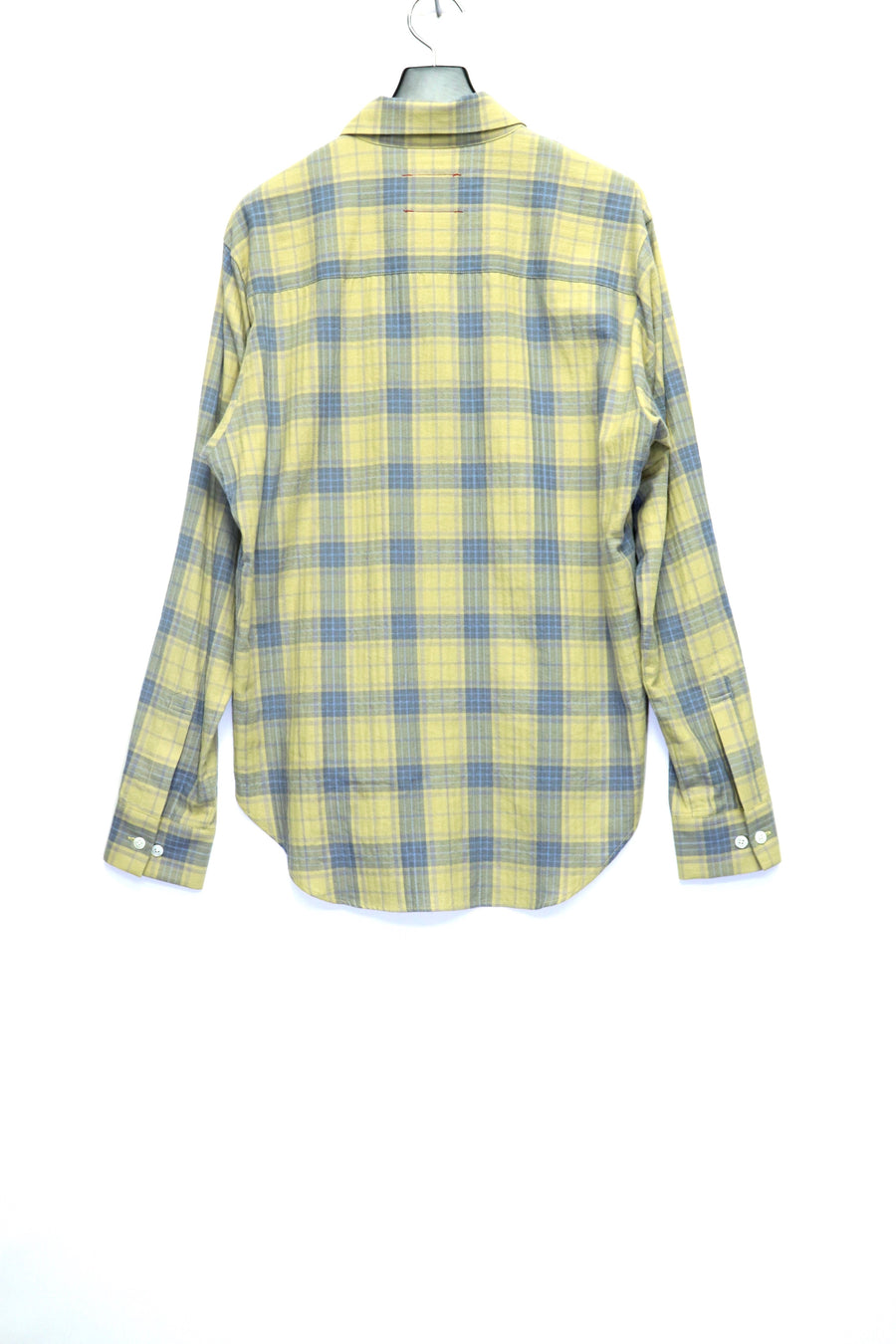 【20%OFF】SYU.HOMME/FEMM  Hi-neck Zip Shirts(YELLOW)