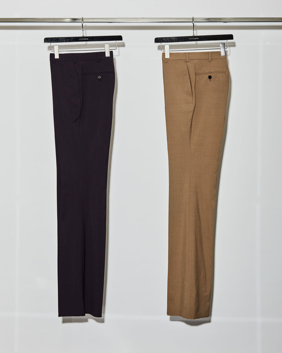 LITTLEBIG  Flare Trousers(Black or Camel)