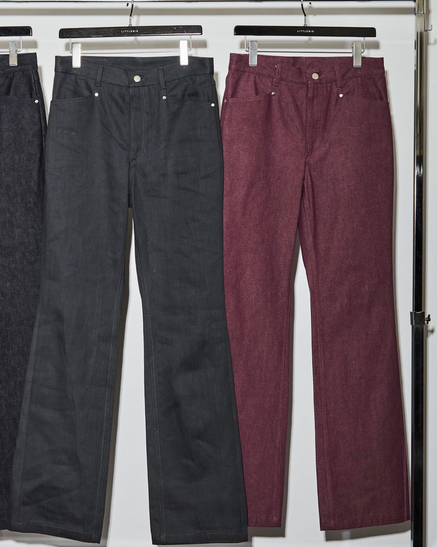 LITTLEBIG  Bootcut Denim (Indigo or Purple or Gray)