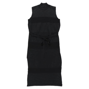 BELPER  KNIT DRESS(BLACK)