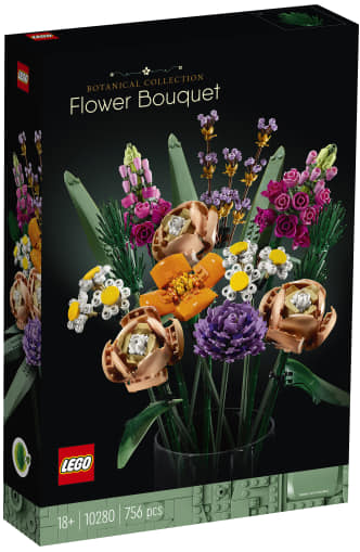 LEGO BOTANICA  10280 FLOWER BOUQUET in preordine consegna appena disponibile