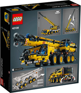 LEGO TECHNIC 42108 GRU MOBILE