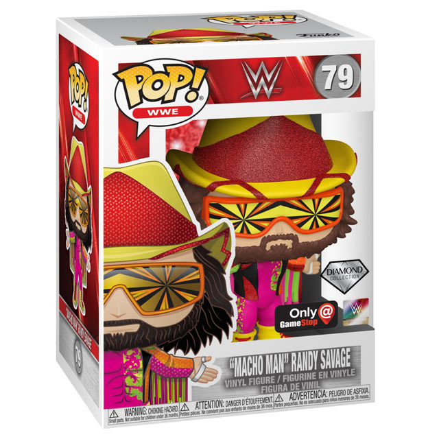 WWE POP! Vinyl Figure Macho Man Randy Savage 9 cm