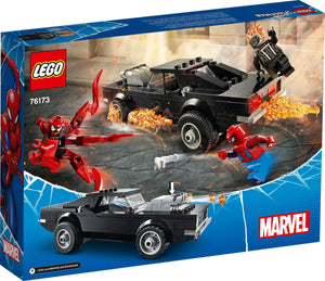 LEGO MARVEL SPIDERMAN E GHOS RIDER VS CARNAGE 76173