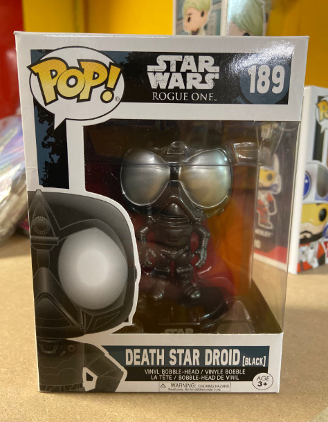 FUNKO  POP DEATH STAR DROID 189