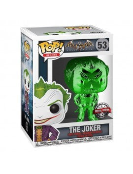 DC POP! Heroes Vinyl Figure The Joker (Green Chrome) 9 cm