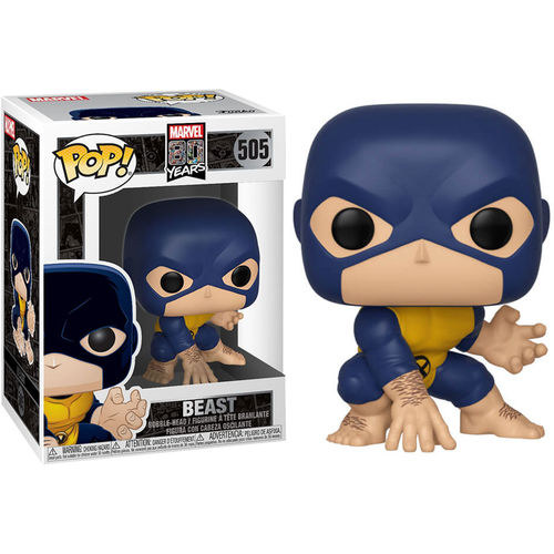 Marvel 80th POP! Heroes Vinyl Figure Beast 9 cm