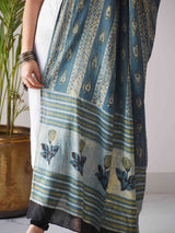 printed mul cotton dupatta