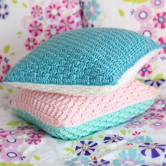Textured Pillow Cover Crochet Pattern