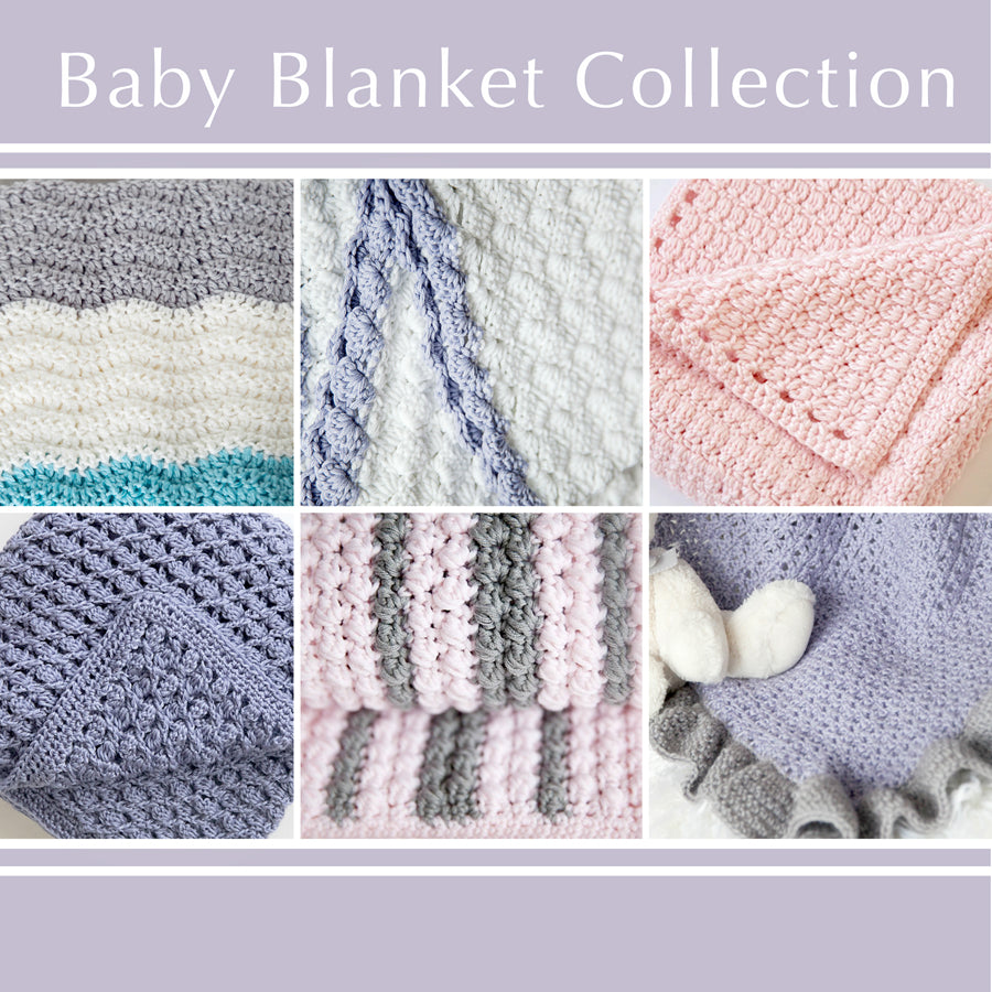 6 Snuggly Crochet Baby Blanket Patterns