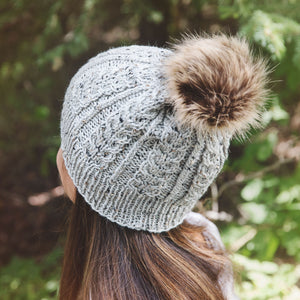 Mali Cabled Hat Knitting Pattern