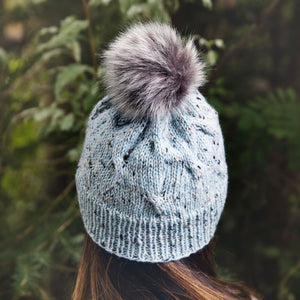 Zahira Cabled Hat Knitting Pattern