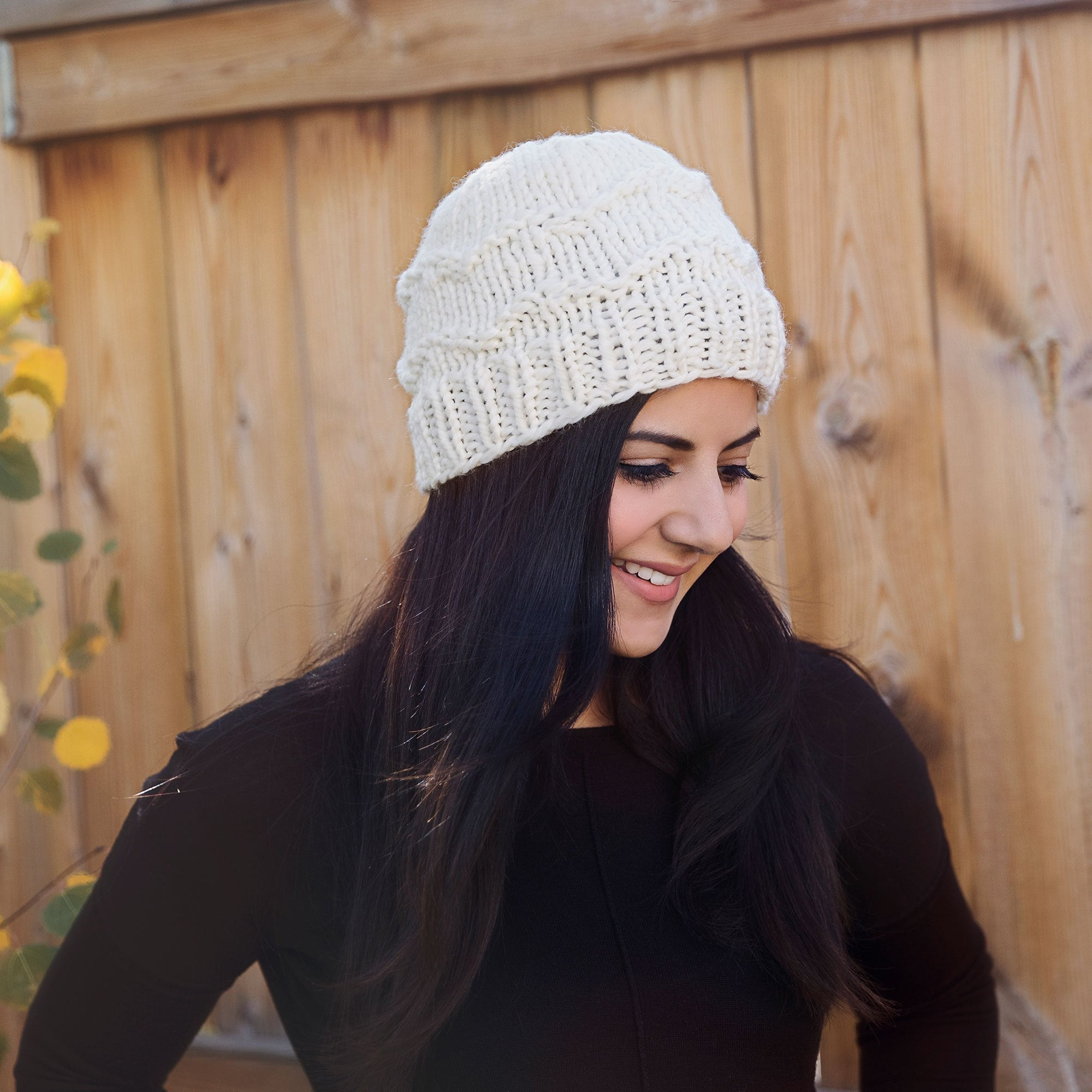 The Coziest Winter Hat Knitting Pattern