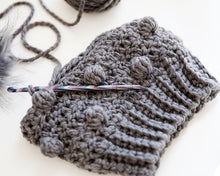Load image into Gallery viewer, Glacier Beanie Crochet Pattern