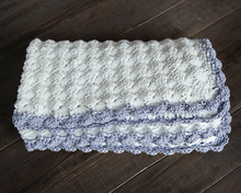Load image into Gallery viewer, Vintage Chic Baby Blanket Crochet Pattern