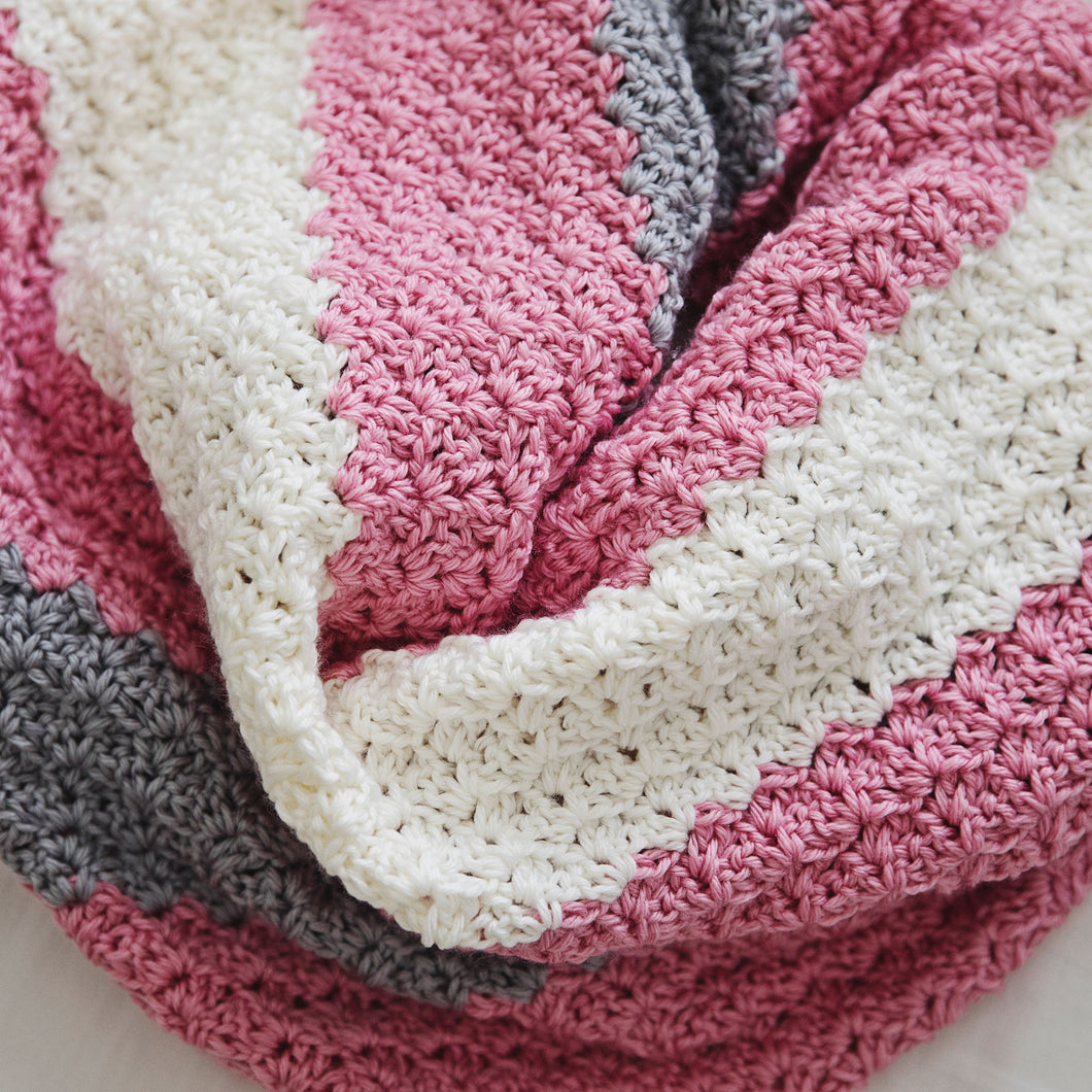 Simply Sweet Baby Blanket Crochet Pattern