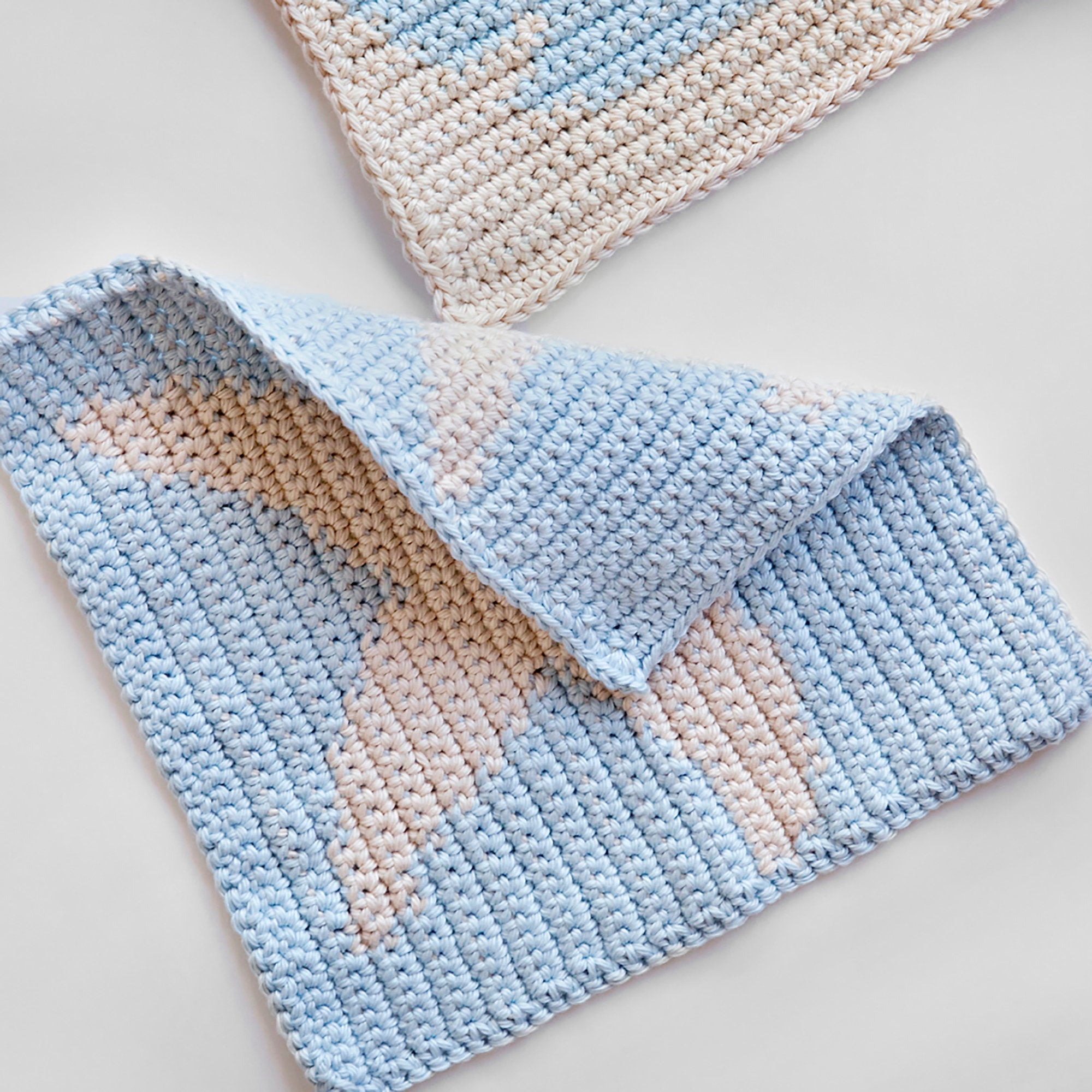 Nautical Washcloth Crochet Pattern